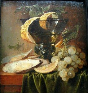 Still Life with Oysters and Lemon